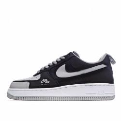 Nike Air Force 1 Low Grey Black BQ6818-009 Sneakers