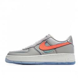 Nike Air Force 1 Low Grey Orange CT3824-001 Sneakers