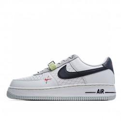 Nike Air Force 1 Low Grey White Black DC2532-100 Sneakers