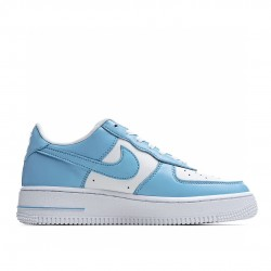 Nike Air Force 1 Low Light Blue White AQ4134-400 Sneakers