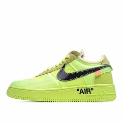 Nike Air Force 1 Low Off-White Volt AO4606-700 Sneakers