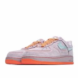 Nike Air Force 1 Low Pink Blue Orange CT7358-600 Sneakers