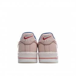 Nike Air Force 1 Low Pink Red Blue DH0928-800 Sneakers