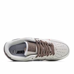 Nike Air Force 1 Low Premium White Brown 808788-996 Sneakers