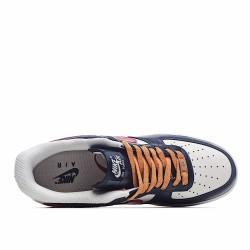 Nike Air Force 1 Low Red Beige Deep Blue AQ4134-402 Sneakers