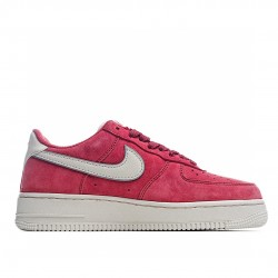 Nike Air Force 1 Low Red Silver AQ8741-601 Sneakers