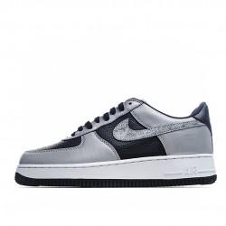 Nike Air Force 1 Low Silver Black 3M DJ6033-001 Sneakers
