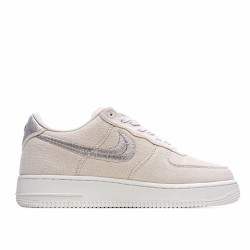 Nike Air Force 1 Low Stussy Fossil CZ9087-200 Sneakers