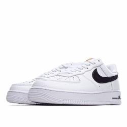 Nike Air Force 1 Low White Black Brown CI0057-100 Sneakers