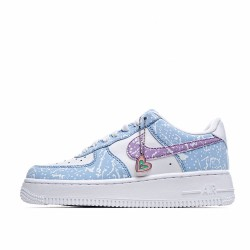 Nike Air Force 1 Low White Blue CZ6928-100 Sneakers