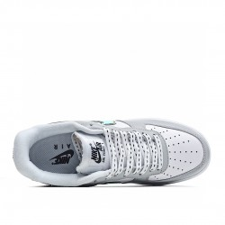 Nike Air Force 1 Low White Grey Gold DC9029-100 Sneakers