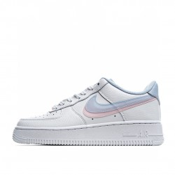 Nike Air Force 1 Low White Pink Blue CW1574-100 Sneakers