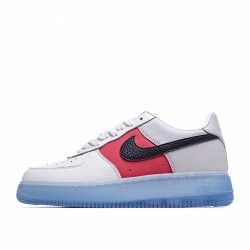 Nike Air Force 1 Low White Red Black CT2295-110 Sneakers