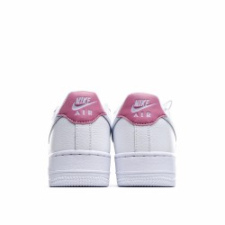 Nike Air Force 1 Low White Silver Pink 315115-156 Sneakers