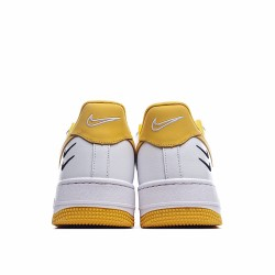 Nike Air Force 1 Low White Yellow DH2947-100 Sneakers