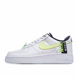 Nike Air Force 1 Low Worldwide White Volt CK6924-101 Sneakers