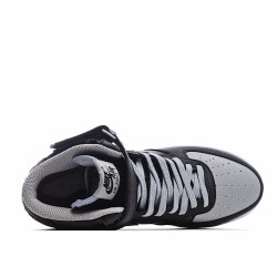 Nike Air Force 1 Mid Black Grey White 854851 067 Sneakers