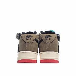 Nike Air Force 1 Mid Brown Beige 804609-159 Sneakers