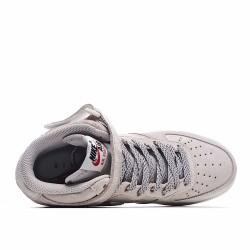 Nike Air Force 1 Mid Suede Black Beige 315115-155 Sneakers