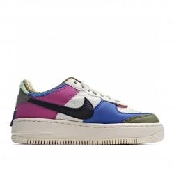 Nike Air Force 1 Shadow Cactus Flower Olive Flak CT1985-500 Sneakers