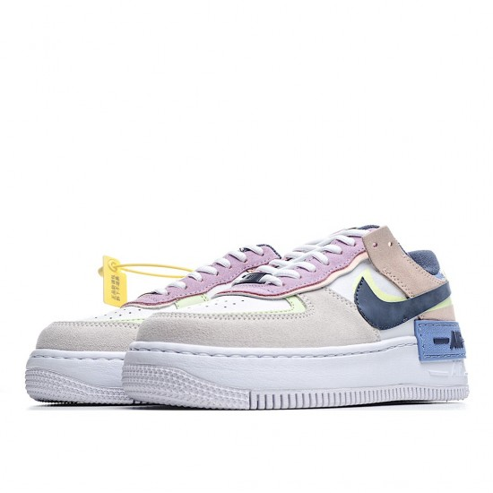 Nike Air Force 1 Shadow Photon Dust Crimson Tint CU8591-001 Sneakers