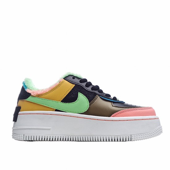 Nike Air Force 1 Shadow Solar Flare Atomic Pink CT1985-700 Sneakers