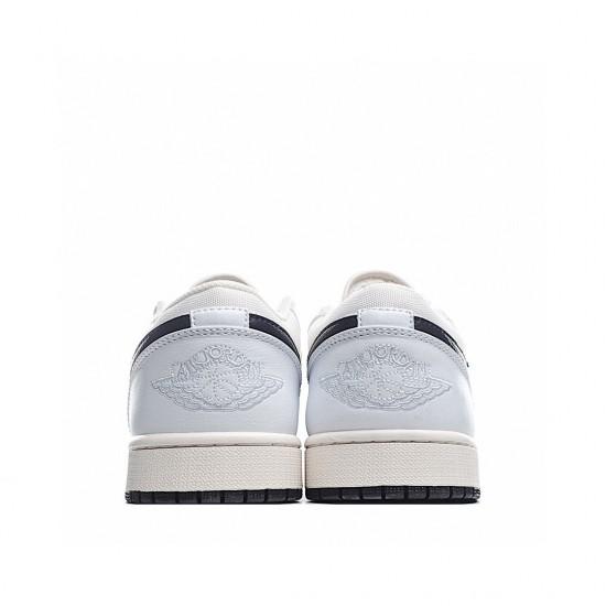Nike Air Jordan 1 Low Beige White Black DC3533-102 Sneakers