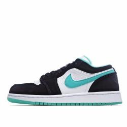Nike Air Jordan 1 Low Black White Blue CQ9828-131 Sneakers