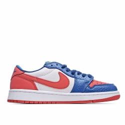 Nike Air Jordan 1 Low Blue White Red CW0658-200 Sneakers