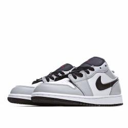 Nike Air Jordan 1 Low Light Smoke Grey 553560-030 Sneakers