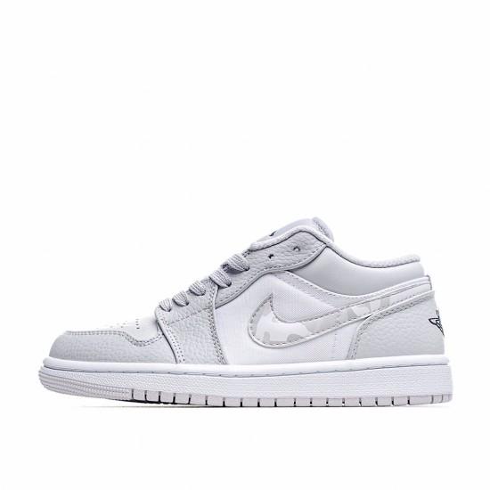 Nike Air Jordan 1 Low White Camo DC9036-100 Sneakers
