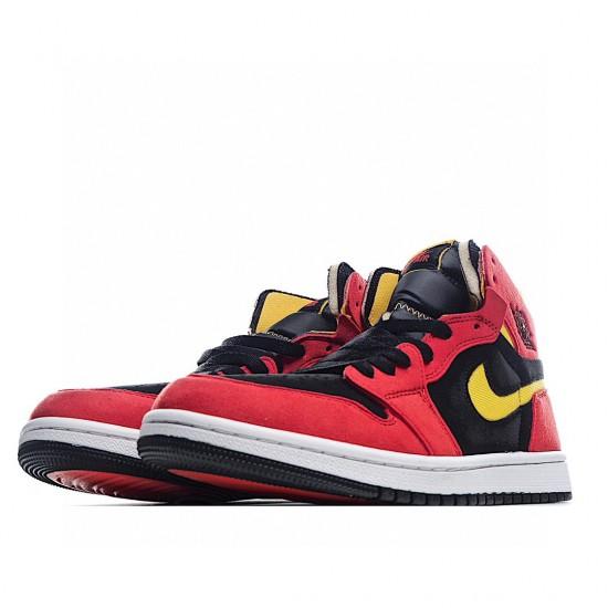 Air Jordan 1 High Zoom Air CMFT Black Chile Red CT0978-006 AJ1 Jordan Sneakers