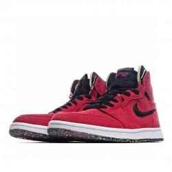 Air Jordan 1 High Zoom Air CMFT Red Suede CT0978-600 AJ1 Jordan Sneakers