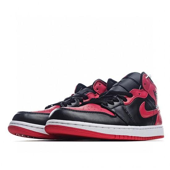 Air Jordan 1 Mid Banned 2020 554724-074 AJ1 Jordan Sneakers