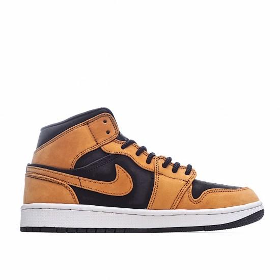 Air Jordan 1 Mid Desert Ochre DB5453-700 AJ1 Jordan Sneakers