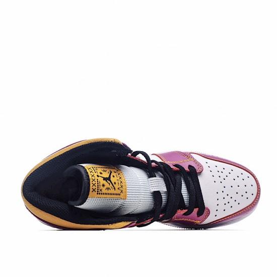 Air Jordan 1 Mid Dia de los Muertos DC0350-100 AJ1 Jordan Sneakers