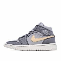 Air Jordan 1 Mid Grey Onyx BQ6472-020 AJ1 Jordan Sneakers