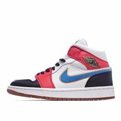 Air Jordan 1 Mid Let Man DC1426-100 AJ1 Jordan Sneakers
