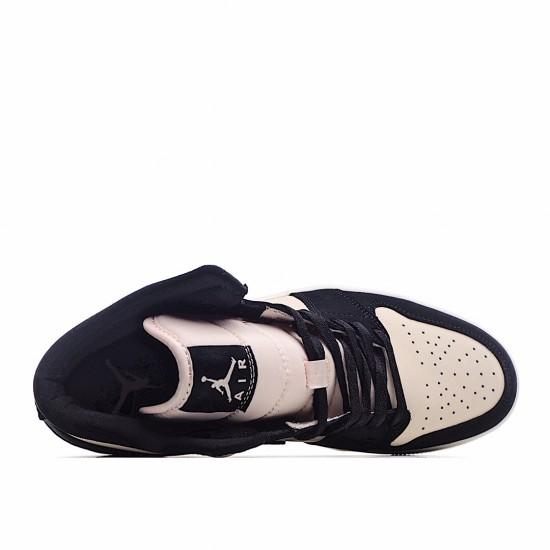 Air Jordan 1 Mid Pink Black DC0774-300 AJ1 Jordan Sneakers