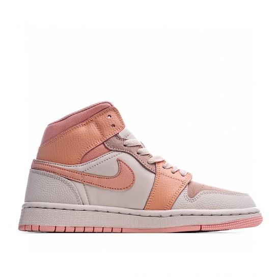 Air Jordan 1 Mid Pink Ltpink DH4270-800 AJ1 Jordan Sneakers