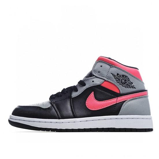 Air Jordan 1 Mid Pink Shadow 554724-059 AJ1 Jordan Sneakers