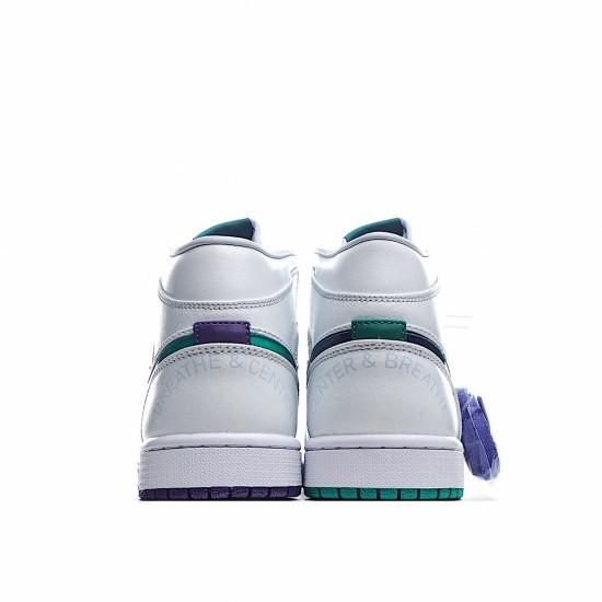 Air Jordan 1 Mid Pregame Pack Mindfulness Luka Doncic CW5853-100 AJ1 Jordan Sneakers