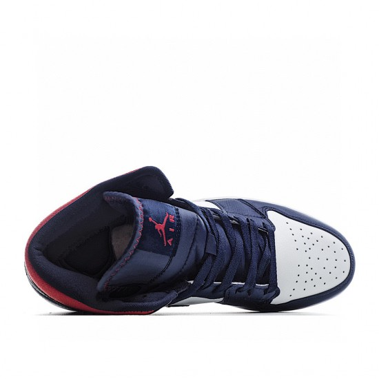 Air Jordan 1 Mid SE USA Red White Blue 852542-104 AJ1 Jordan Sneakers
