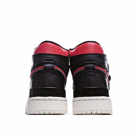 Air Jordan 1 Retro High Double Strap Black Gym Red AQ7924-016 AJ1 Jordan Sneakers