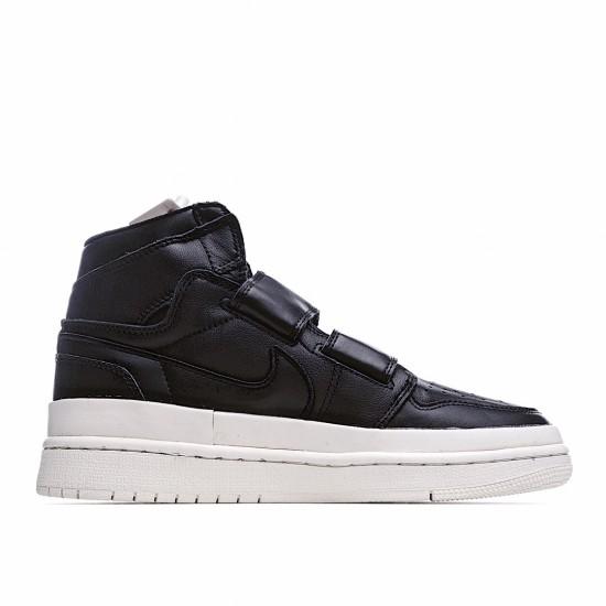 Air Jordan 1 Retro High Double Strap Black Sail AQ7924-001 AJ1 Jordan Sneakers