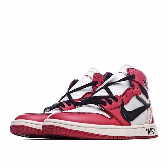Air Jordan 1 Retro High Off-White Chicago AA3834-101 AJ1 Jordan Sneakers