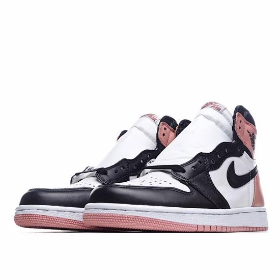 Air Jordan 1 Retro High Rust Pink 861428 101 AJ1 Jordan Sneakers