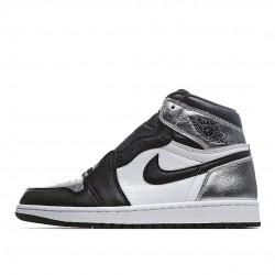 Air Jordan 1 Retro High Silver Toe CD0461-001 AJ1 Jordan Sneakers