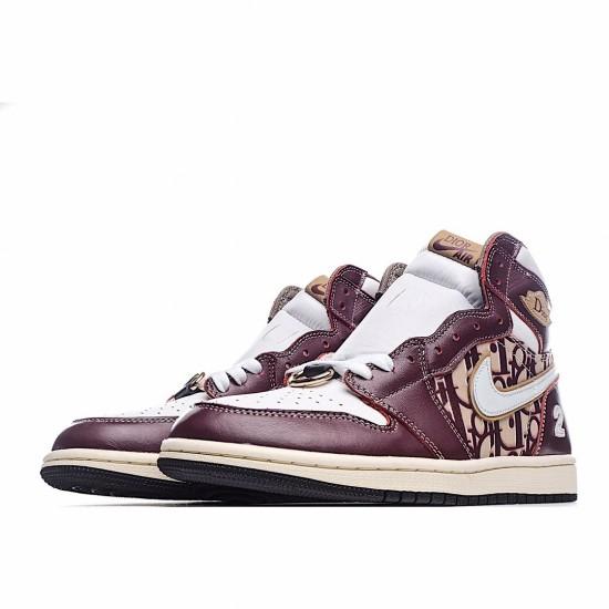 Air Jordan 1 Retro High White Red CD0461 300 AJ1 Jordan Sneakers