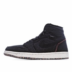 Air Jordan 1 Retro High Zoom Crater CW2414 001 AJ1 Jordan Sneakers